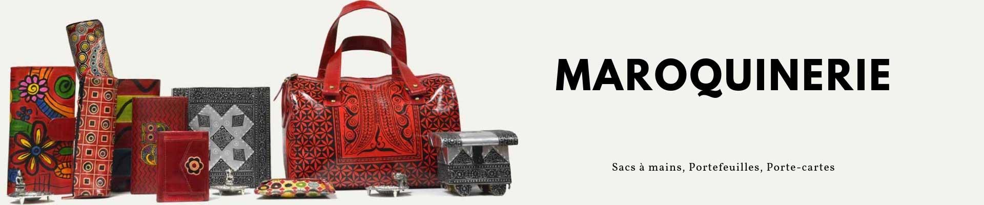 maroquinerie sac et portefeuille