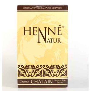 henne couleur chatain