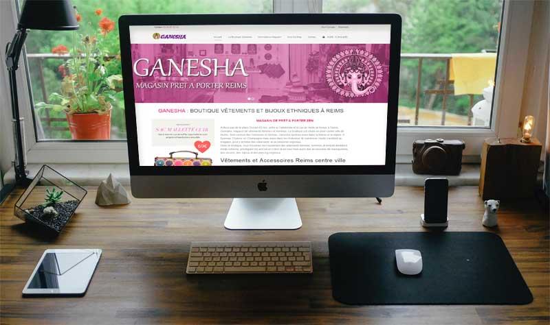 nouveau site internet ganesha