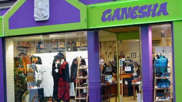 rayon de la boutique ganesha