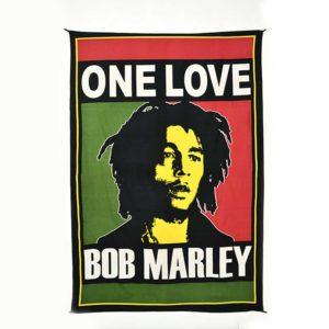 tenture murale Bob Marley One Love