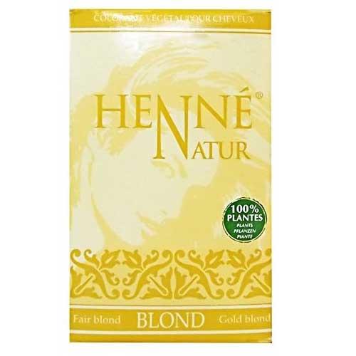 henne natur blond hennedrog