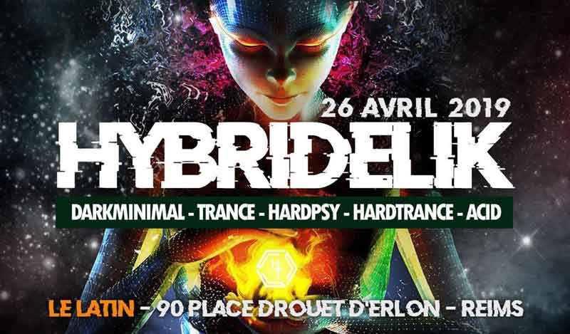 soiree hybridelik place d'erlon